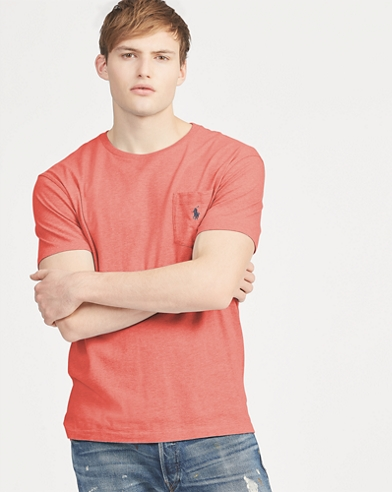 Classic Fit Cotton Pocket Tee
