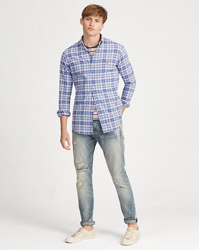 5051ab8c0 Classic Fit Plaid Oxford Shirt. Take an extra 30% off. Polo Ralph Lauren