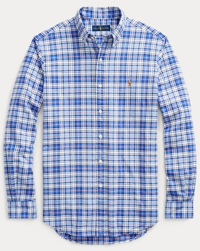 04a1af10da5 Classic Fit Plaid Oxford Shirt. Take 30% off + 10% off. Polo Ralph Lauren