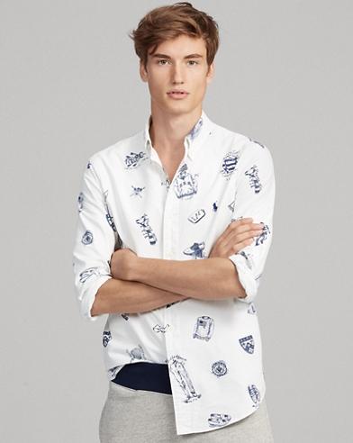 7b0d10b50eddfd Classic Fit Print Oxford Shirt. Polo Ralph Lauren. Classic Fit Print Oxford  Shirt.  125.00