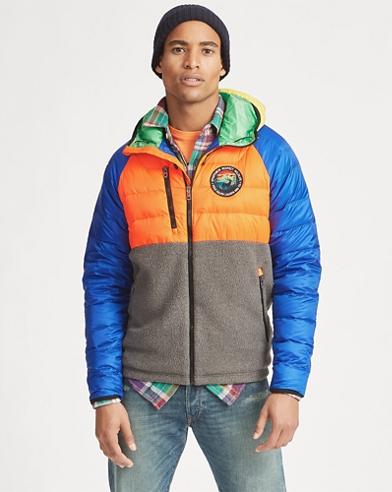 Hybrid Down Jacket