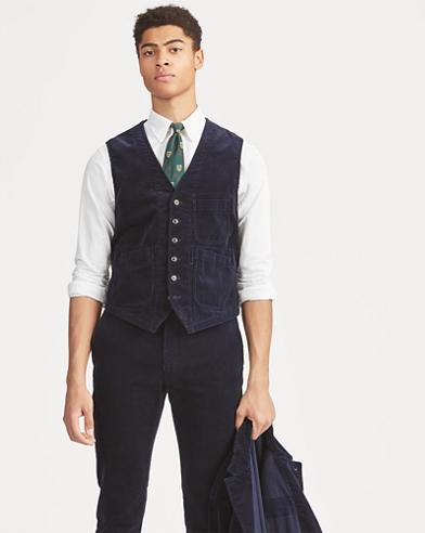 Stretch Corduroy Vest