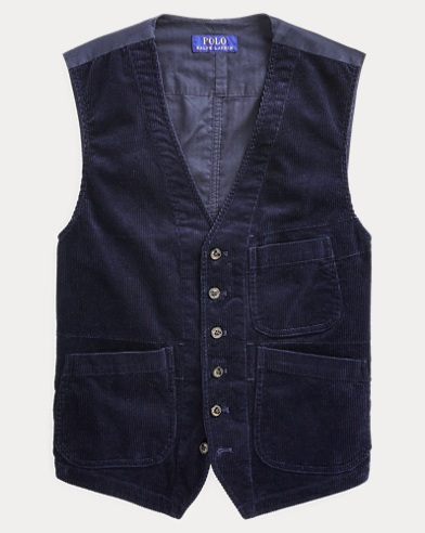 Stretch Corduroy Vest