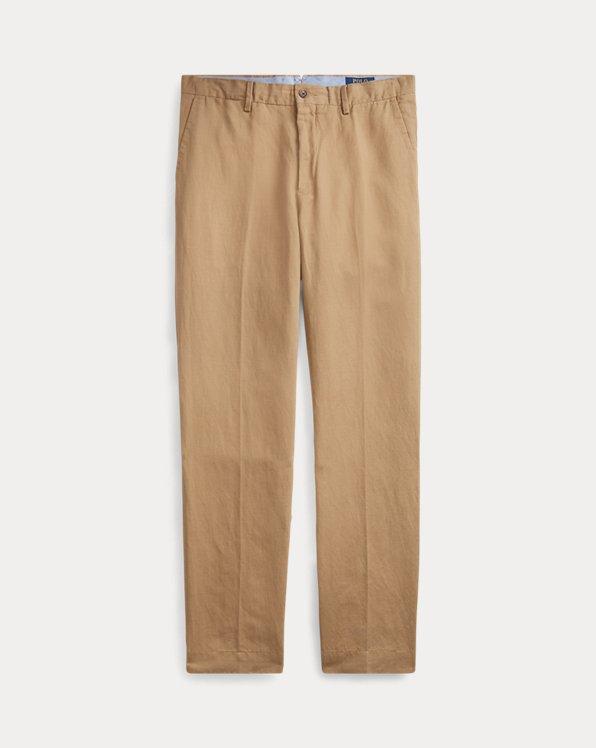 Classic Fit Linen-Blend Trouser