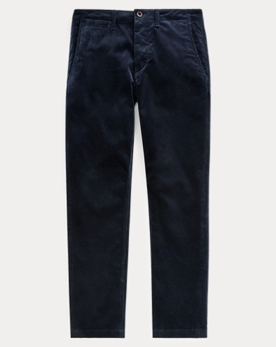 Stretch Straight Corduroy Pant