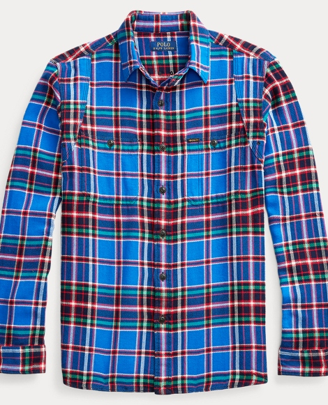 Classic Fit Plaid Workshirt