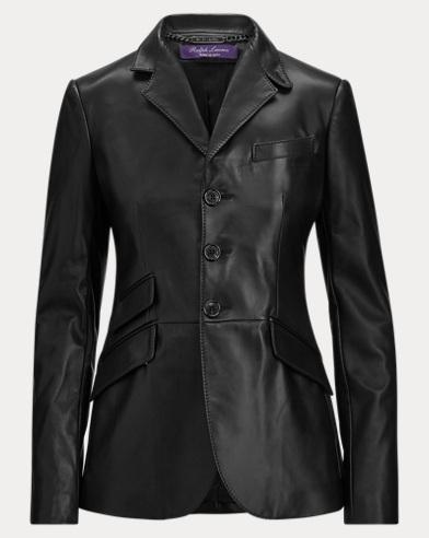 Alastair Lambskin Jacket