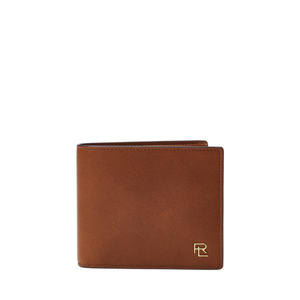 Polo Ralph Lauren Metal-Plaque Leather Billfold
