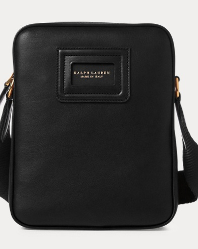 ID Badge Leather Crossbody Bag