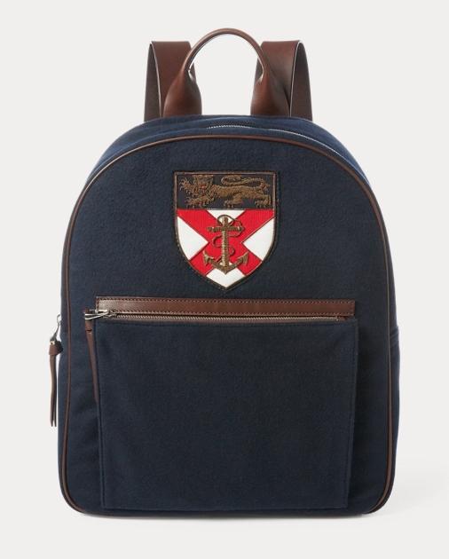 d943d1d166 Ralph Lauren Crested Flannel Backpack 1