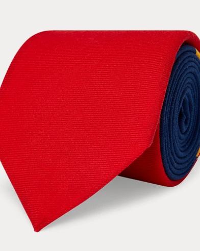 Cravate étroite en laine Sportsmen
