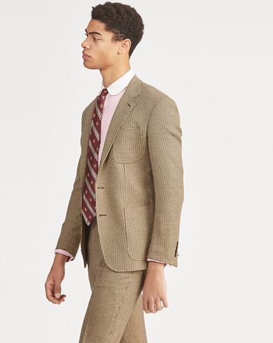 Polo Tick-Weave Suit Jacket