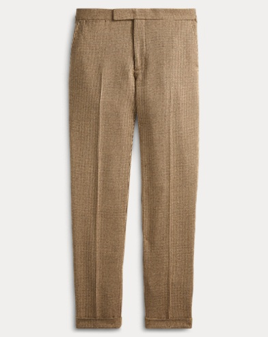 Polo Tick-Weave Suit Trouser