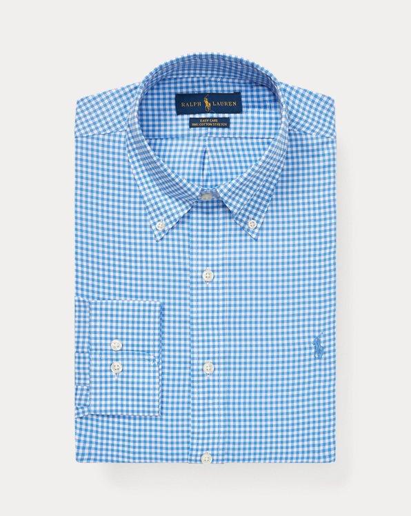 Custom Fit Gingham Dobby Shirt