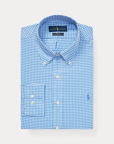 Custom Fit Gingham Dobby Shirt