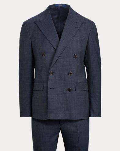 Polo Sharkskin Suit