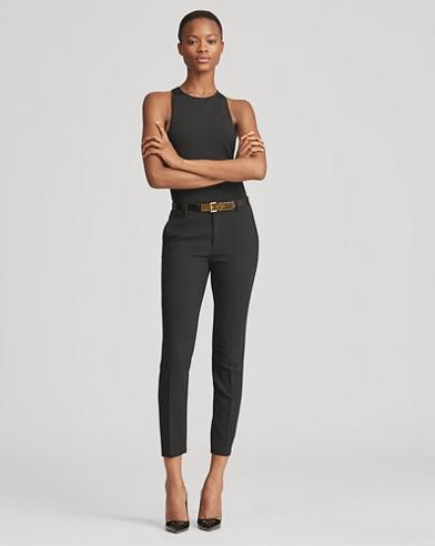PantalonHeidi skinny en laine stretch