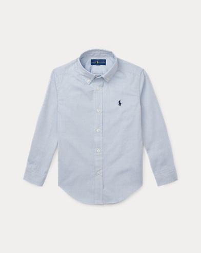 Custom-Fit Baumwoll-Oxfordhemd