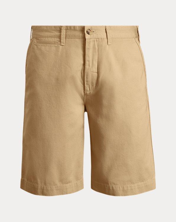 Pantalón corto chino de algodón Classic Fit
