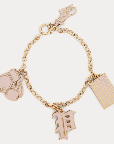 Pink Pony Charm Bracelet