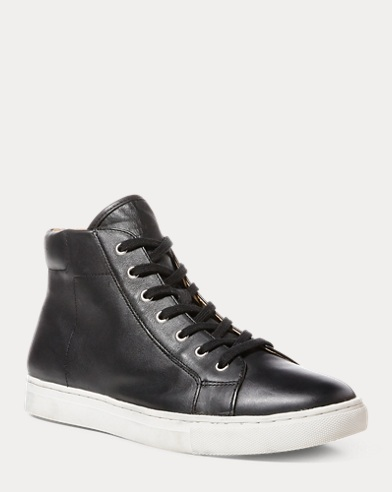Dree Nappa High-Top Sneaker