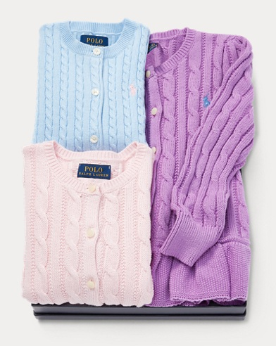 Cardigan 3-Piece Gift Set