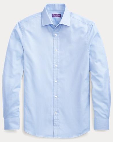 Micro-Herringbone Shirt