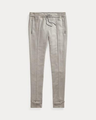 Slim Fit Wool Flannel Trouser