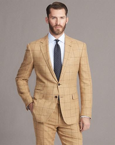 Gregory Windowpane Suit Jacket