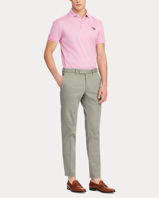 Purple Label Pantalón chino elástico Slim Fit 2