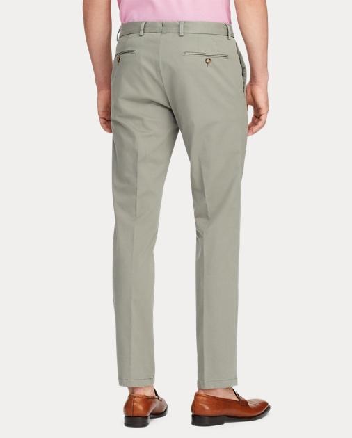 Purple Label Pantalón chino elástico Slim Fit 4