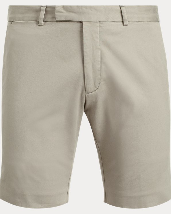 Slim-Fit Chinoshorts mit Stretch