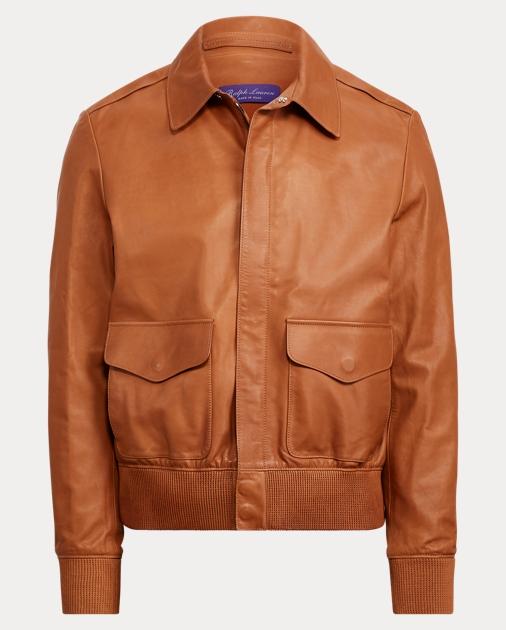 low priced 57215 759e5 Calfskin Flight Jacket