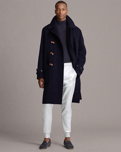 Wool Melton Duffel Coat