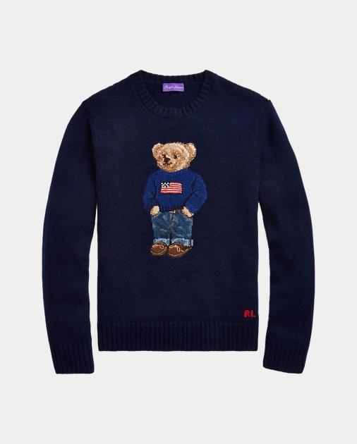 Purple Label Polo Bear Cashmere Sweater 2
