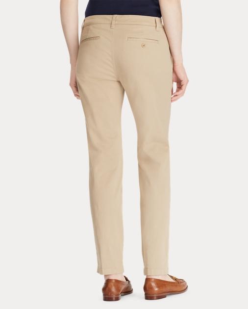 Lauren Stretch Cotton Skinny Pant 4