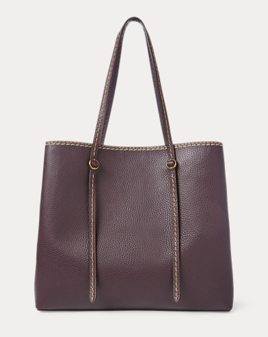 Pebbled Leather Lennox Tote