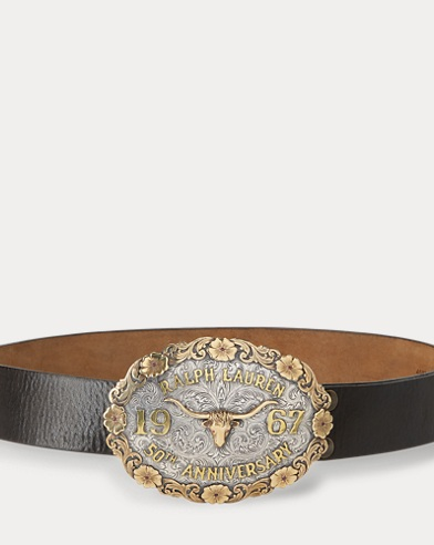 Limited-Edition Buckle Belt