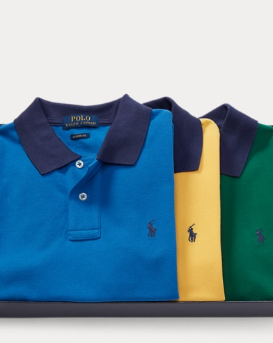 Short-Sleeve Polo 3-Piece Set
