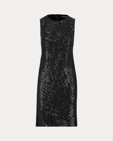 Sequined Sleeveless Dress