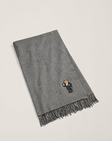 Bartley Bear Throw Blanket
