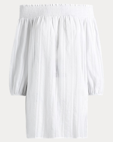 Cotton Off-the-Shoulder Tunic