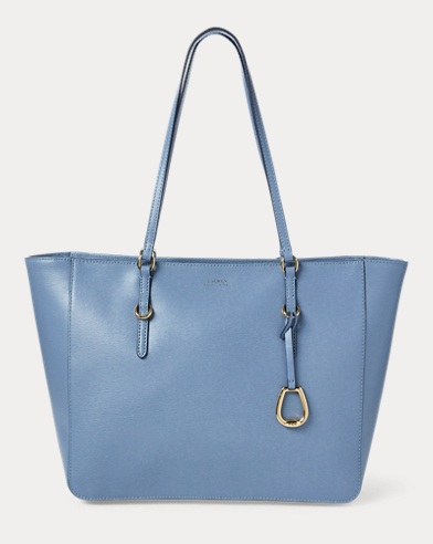 436b89ec158d Polo Ralph Lauren. Faded-Text Canvas Tote Bag.  168.00  79.99. Save to  Favorites · Saffiano Leather Tote