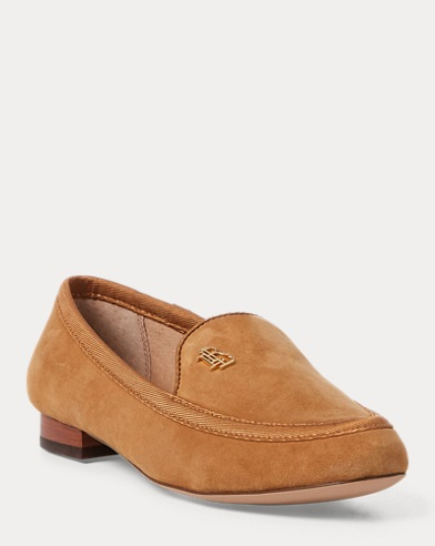 Clair Suede Smoking Slipper