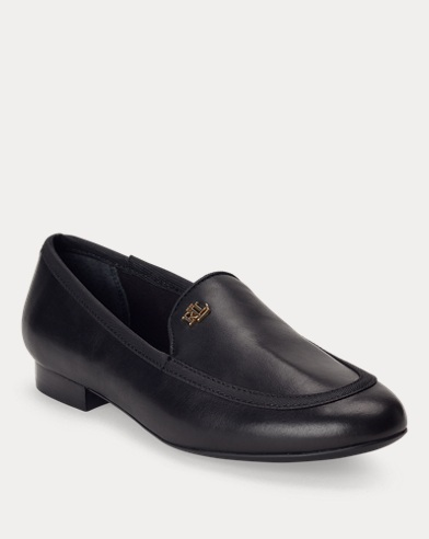Clair Leather Smoking Slipper