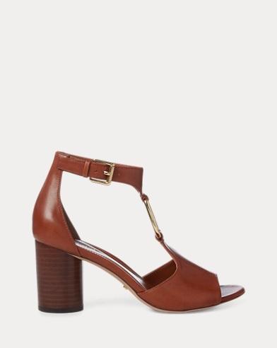 Elesia Leather Sandal