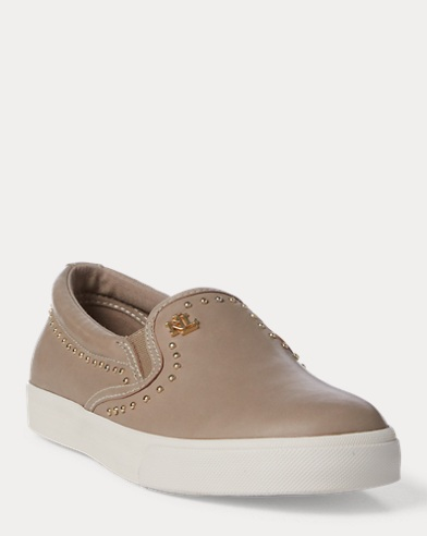 Ria II Leather Trainer