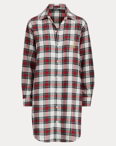 Brushed Cotton Sleep Shirt