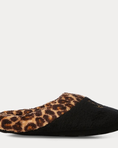 Cheetah Fleece Slipper