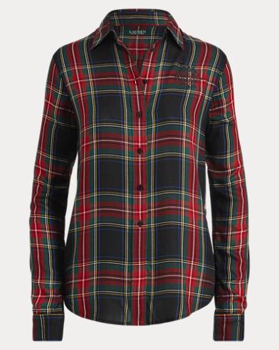 Crest Tartan Twill Shirt